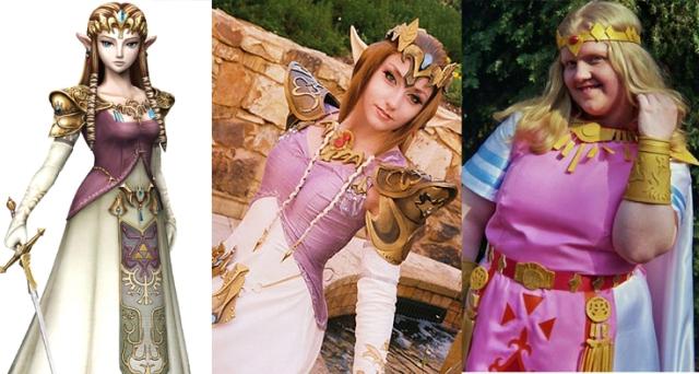 La princesa Zelda -TLOZ