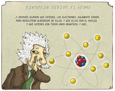 Como Einstein dividió el átomo... de mis favoritas jejeje